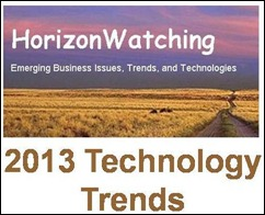 HorizonWatching 2013 Technology Trends - Picture